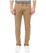 Billabong Men Slicker Tapered Color Camel Denim Jeans Sz 32 M311CSTB
