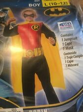 ROBIN CHILD LARGE 10-12 HALLOWEEN COSTUME NEW  DC Comics