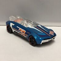 Hot Wheels Blue Whip Creamer II 1:64 Scale Diecast Toy Car Model Mattel