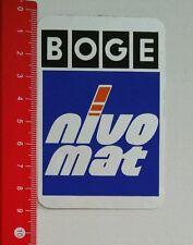 Aufkleber/Sticker: BOGE Nivo Mat (060716197)