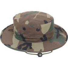 a43640bfbc519 Boonie Hat Adjustable Woodland Camo Hunting Survival Tactical Gear Rothco  52558