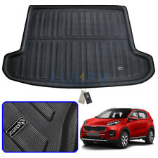 Rear Trunk Cargo Liner Boot Mat Floor Tray Carpet For Kia Sportage 2016-2019