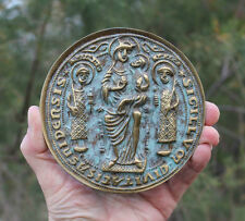 Medaille, medieval seal of ESSEN, St. Cosmas and Damianus, Germany