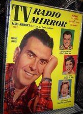 TV RADIO MIRROR MAGAZINE Sep 1955 DENNIS JAMES Julius LaRosa FESS PARKER