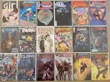 Lot of 18 Ultra Rare #1 Comic Books Vintage Dark Horse, Image, Vertigo & Others