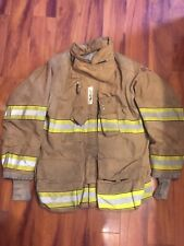 Firefighter Globe Turnout Bunker Coat 46x32 G Xtreme 2007 No Cut Out