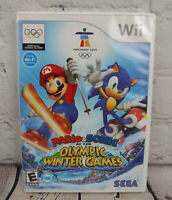 Mario & Sonic at the Olympic Winter Games (Nintendo Wii, 2009) Video Game