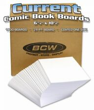 Bulk Current Comic Backing Boards (1000 Loose Boards per Case)