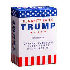 Cards Against Humanity: Humanity Hates Trump Card Game. Expansion One! New!