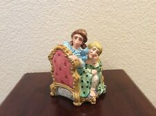 Fitz & Floyd Two Ladies on a Daybed Collectible Figurine, Hand-painted