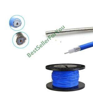 """RF RG402 Coaxial Cable Connector Semi-rigid Flexible 0.141""""  RG-402 Coax Pigtail"""
