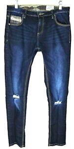 Diesel Kids Waykee J US Jeans Tag Size 18Y Stretch Denim Regular Straight