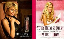 Paris Hilton Perfume Heiress + Your Heiress Diary 2005 MT Movie TV Photo Book