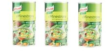 3x Minestrone Knorr di 11 verdure selezionate Ingredienti naturali 2 Porzioni