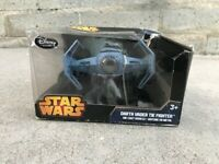 Disney Store Star Wars Darth Vader Tie Fighter Die Cast Vehicle Exclusive NEW