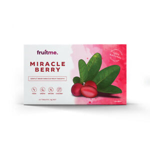 Miracle Berry Tablets 10 Pack - Gently Dried Taste Changing Miracle Fruit Pills