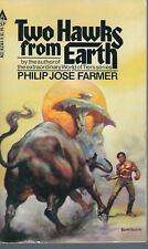 Philip Jose Farmer TWO HAWKS FROM EARTH 1st Edition 1st Printing NEW