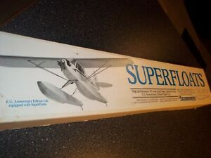 """CARL GOLDBERG 36"""" """"SUPERFLOATS"""" FOR REMOTE CONTROL MODEL AIRPLANE 50 TO 90 SIZE"""