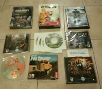 PC FPS Game lot! Call of Duty WWII! Medal of Honor! Men of Valor! More!