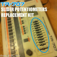 Slider potentiometers Replacement SET for Roland TR 707 (LAST one)