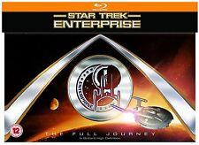 Star Trek Enterprise Full Journey Complete Seasons Series blu ray Box Set RB New