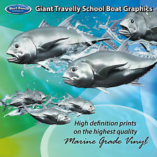 School of Travelly Graphics - set of 300mm Boat Graphics