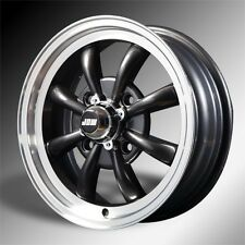 VW Beetle 15x5.5 AC 8 Spoke Black Hi-lite x 4  (NEW)
