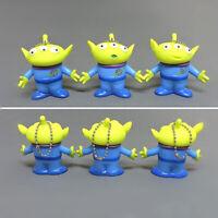Disney Toy Story 4 Alien Plastic Figures Toy Key Bag Accessory Kids Gift 4cm