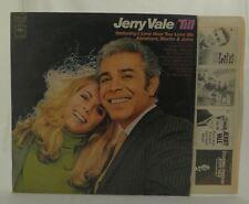 JERRY VALE (TILL) ~ Columbia Stereo Vinyl LP Album 1969 CS-9757 VG+/VG+