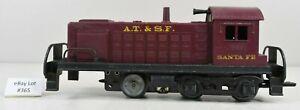 (Lot #365) O Gauge Marx Model Train Diesel Locomotive AT&SF Switcher 1998 Parts