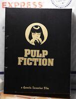NEW PULP FICTION BLU-RAY ONE CLICK 3 STEELBOOKS! NOVAMEDIA NE#18!  FULL+LENTI!
