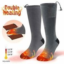 CAVEEN Heated Socks Men Women Electric Rechargeable Battery Heated Thermal Socks