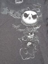 Authentic Disney Nightmare Before Christmas Jack Skellington T-Shirt Dark Grey