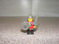 LEGO Crusader Lion Axe Knight Minifigure With Rare Shield Sword Classic Castle