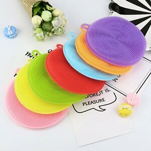 Cleaning brush silicone in 7 colours GoodQuality/Value Multibuy offers UK seller