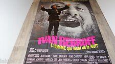 ivan rebroff LE CHANTEUR INCONNU ! affiche cinema 1971