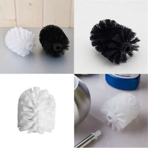 2 Colors Toilet Brush Head Holder Replacement Bathroom WC Clean Accessory US
