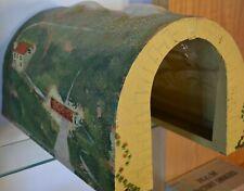Ornate Concrete 1935 6268 Double Track Tunnel Portal Wide Version