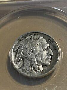 1923-S US Buffalo Nickel Graded F15 by ANACS!!