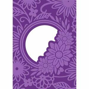 "Floral Frame Gemini Cut & Emboss Folder 5"" x 7"""