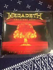 MEGADETH GREATEST HITS CD  THRASH METAL SLAYER METALLICA ANTHRAX
