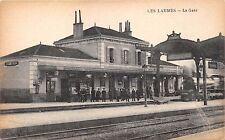 LES LAUMES COTE-d'OR FRANCE~la GARE POSTCARD 1919