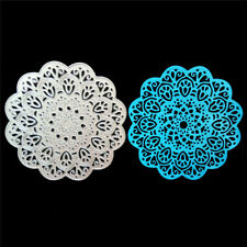 Circle Flower Framed Metal Cutting Dies Stencil Scrapbook Paper Cards CraftKK