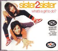 Sister 2 Sister What's a Girl To Do? Australian CD single 2000