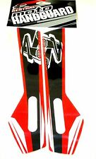 RENTHAL GRAPHICS DECALS RED -  FOR RENTHAL MOTO HANDGUARDS HONDA CRF 250/450
