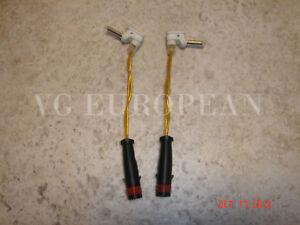 Mercedes-Benz OEM Brake Pad Sensors (2 Pcs.) C E CL S SL ML CLS GLK Class NEW