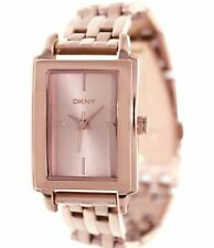 DKNY LADIES NY8493  ROSE GOLD LUXURY DRESS  WATCH