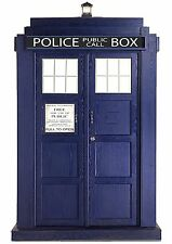 An A4 Dr Who Tardis Cake Topper ICING