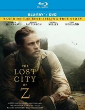 THE LOST CITY OF Z (Blu-ray/DVD, 2017, 2-Disc Set) [See Description]