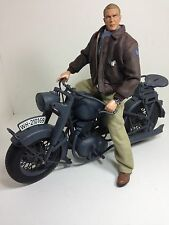 "1/6 21ST CENTURY STEVE MCQUEEN&GERMAN MOTORCYCLE""THE GREAT ESCAPE""WW2 DRAGON BBI"